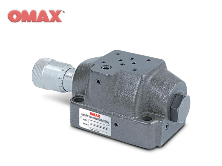 OMAX Solenoid Operated (SDF) - Solenoid Operated Flow Control Valves