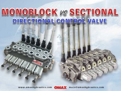 Monoblock Valve (vs) Sectional Valve