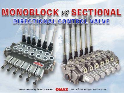 Monoblock Valve (vs) Sectional Valve