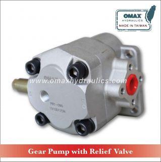 Gear Pump + Relief Valve (PR1)
