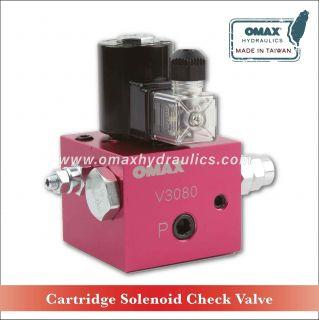 Cartridge Solenoid Check Valve